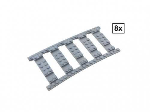 Image of Trixbrix product: Ballast Plate R104 Set - 8 pieces for 8 R104 tracks