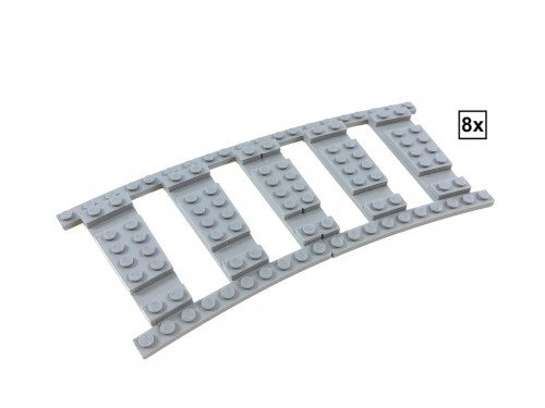 Image of Trixbrix product: Ballast Plate R56 Set - 8 pieces for 8 R56 tracks