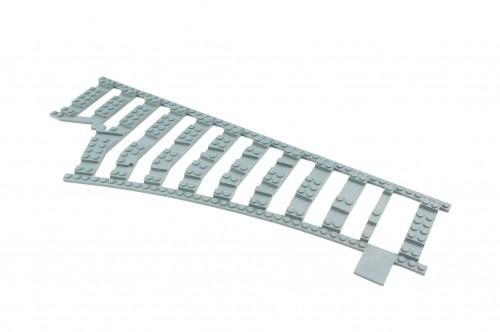 Image of Trixbrix product: Ballast Plate for Left Switch R104