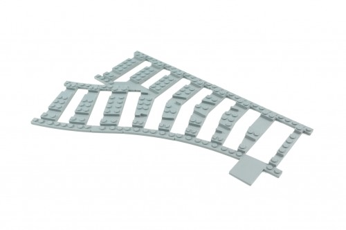 Image of Trixbrix product: Ballast Plate for Left Switch R40