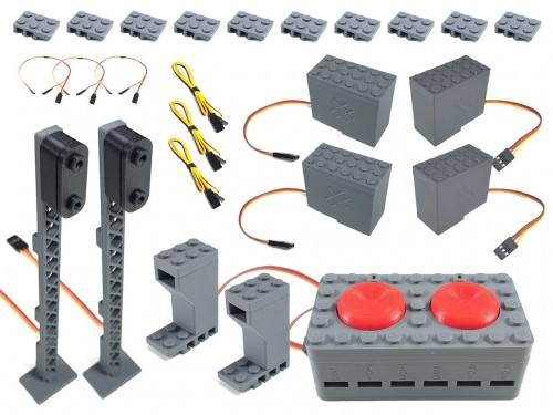 Image of Trixbrix product: 4 Switch Combo for original Lego switches