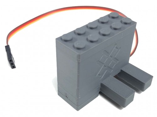 Image of Trixbrix product: Left Switch Servo Motor