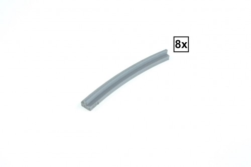 Image of Trixbrix product: Curved Rails R24C Set 8x