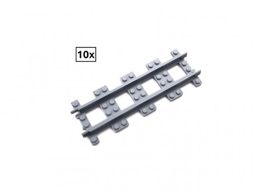 Image of Trixbrix product: Straight Rail Set 10x