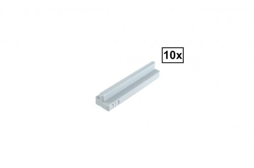 Image of Trixbrix product: Straight Rails Set 1/4 10x