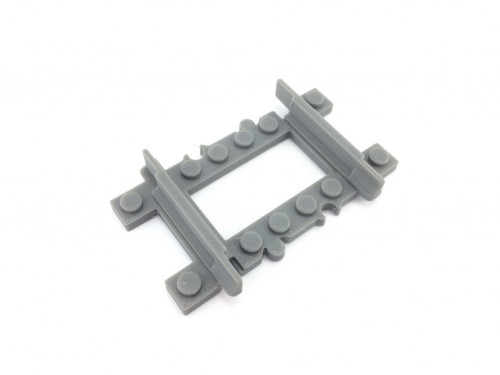 Image of Trixbrix product: Straight Track (quarter)