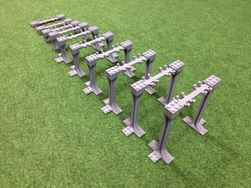Image of Trixbrix product: Incline Supports - 10 segments